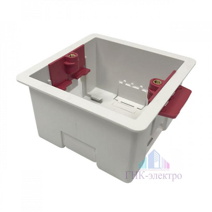 Монтажная квадратная коробка для гипсокартона размер 81х81 наружные габариты