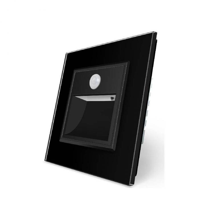 Подсветка лестницы, пола Livolo с датчиком движения, цвет черный